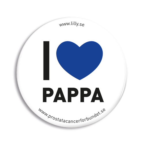 I love pappa badge