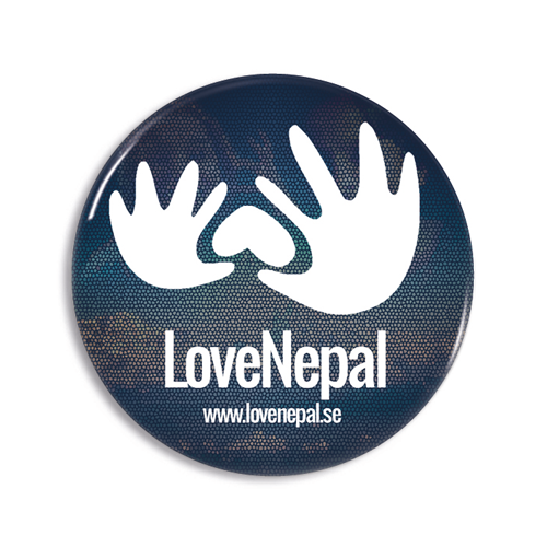LoveNepal pin