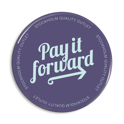 Pay it forward knappar