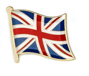 enamel pin flag