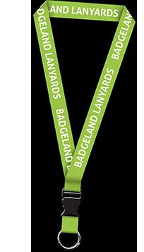 grönt logoband